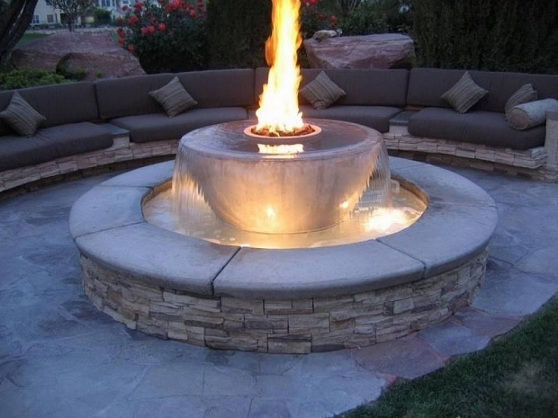 Image of Modern Propane Fire Pit Fire Pit Propane For The Beautiful Modern One Furniture