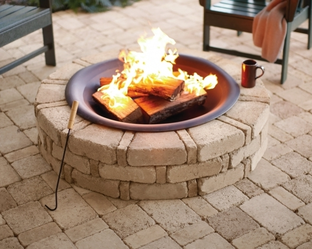 Image of Wood Burning Stone Fire Pit 2 Forms Of Stone Fire Pit Kit Tomichbros