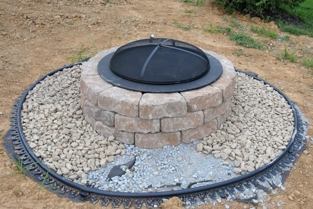 Incredible Building A Brick Fire Pit Diy Brick Fire Pit Tutorial Fire Pit Design Ideas