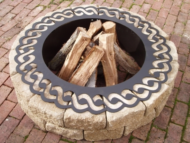Inspiring Metal Fire Pit Ring Fire Pit Etsy