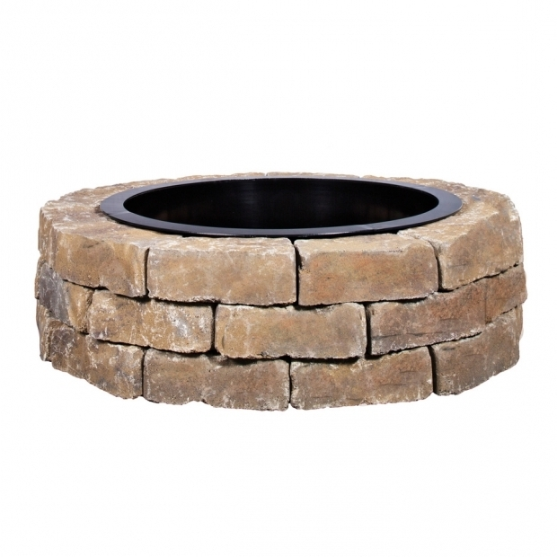 Marvelous Fire Pit Kit Lowes Shop Fire Pit Project Kits At Lowes