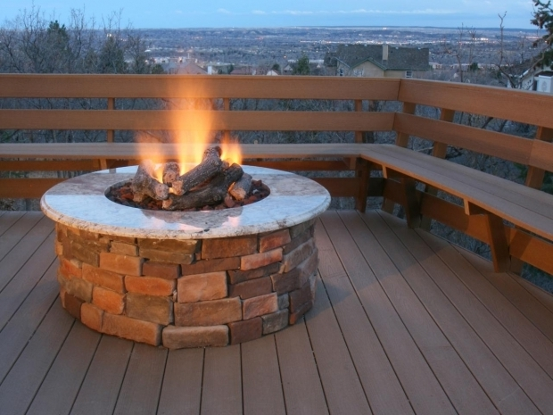 Marvelous Gas Fire Pits For Decks Brick And Concrete Fire Pits Hgtv