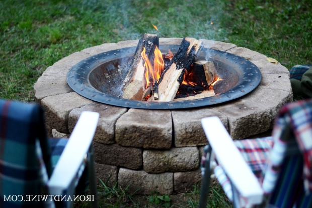 Marvelous Handmade Fire Pit How To Build A Fire Pit