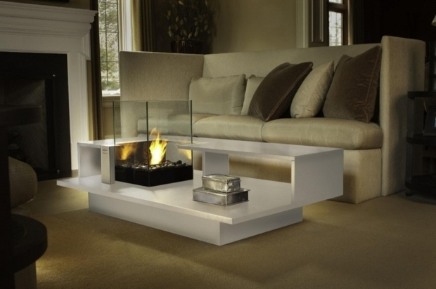 Indoor Fire Pit Coffee Table - Fire Pit Ideas