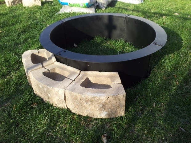Marvelous Metal Fire Pit Ring Metal Fire Pit Cover For Round Fire Ring Fire Pit Design Ideas