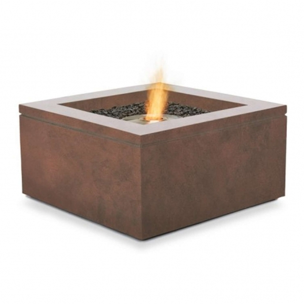 Outstanding Brown Jordan Fire Pit Quad Outdoor Fire Table Brown Jordan Fires Yliving