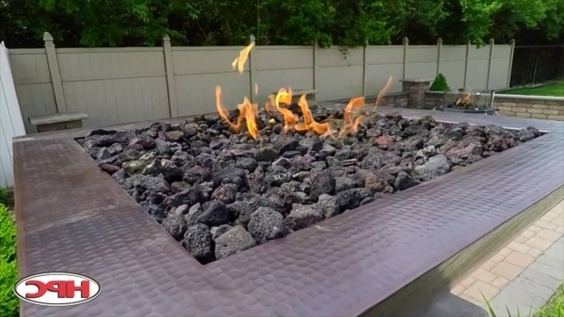 Picture of Fire Pit Lava Rocks Outdoor Fire Pit Lava Rock Youtube