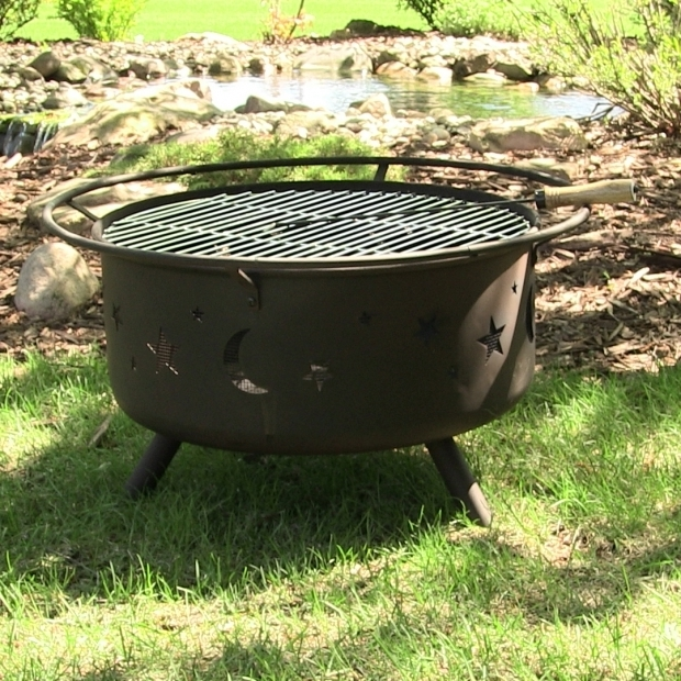 Picture of Grill Fire Pit Combo Fire Pit Grill Ship Design