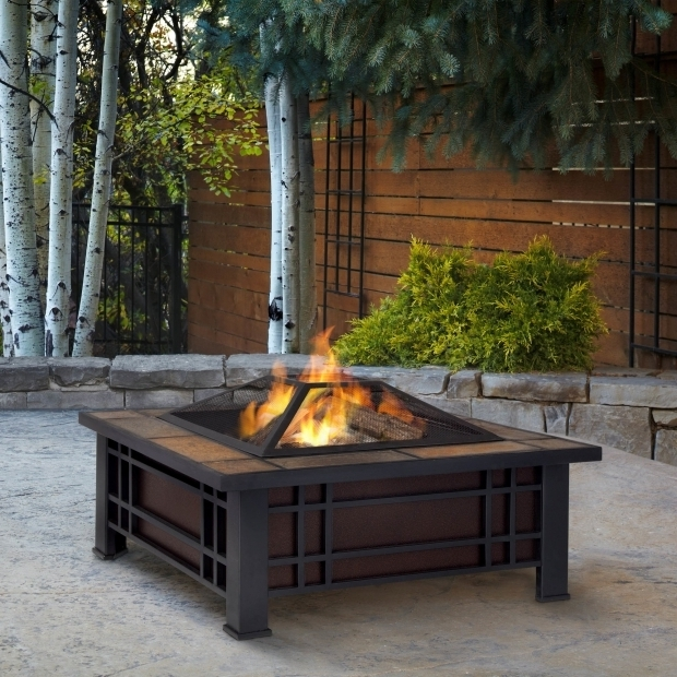 Picture of Large Wood Burning Fire Pit Real Flame Morrison Wood Burning Fire Pit Table Reviews Wayfair