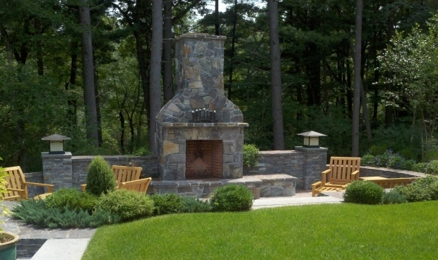 Picture of Outdoor Chimney Fire Pit Design Guide For Outdoor Firplaces And Firepits Garden Design