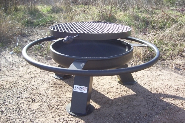 Picture of Texas Fire Pits Heavy Duty Fire Pits Tx Gates Smokers Fabrication Marshall