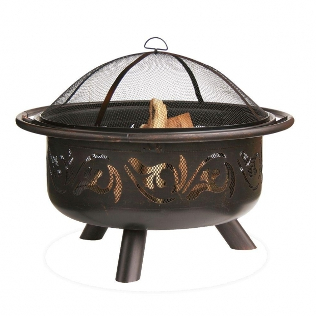 Remarkable Clay Fire Pit Home Depot Hampton Bay 29 In Star Cutout Fire Pit Fpw 101143 The Home Depot