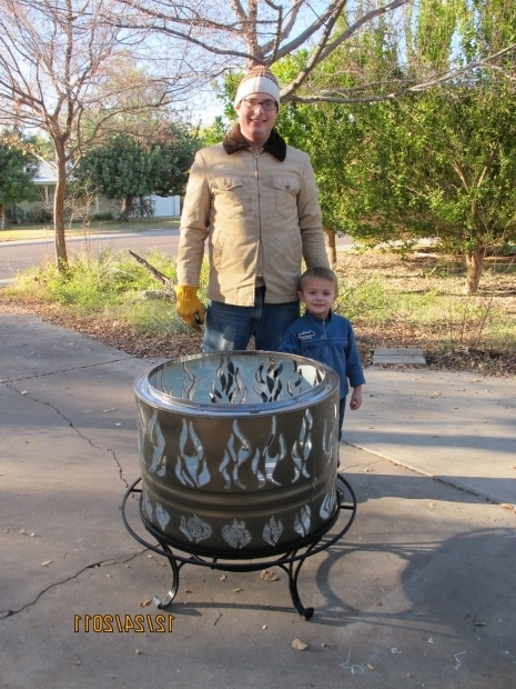 Remarkable Dryer Drum Fire Pit Phoenix Fire Pit New Dryer Drum Firepit