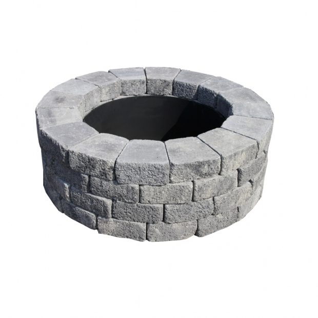 Remarkable Fire Pit Kit Lowes Shop Fire Pit Project Kits At Lowes