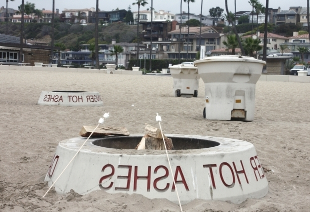 Remarkable What Beaches Have Fire Pits Newport Local News Coastal Commission Approves Newports Fire