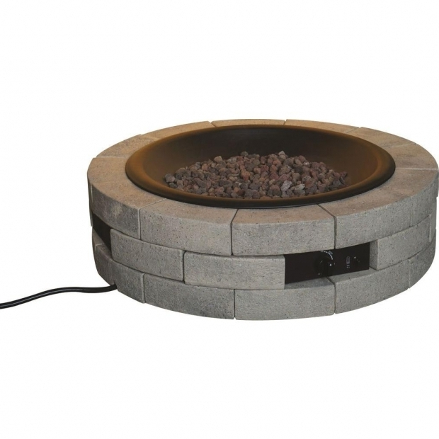 Stunning Round Fire Pit Insert Bond Manufacturing 39 In Round Gas Insert Stainless Steel Fire