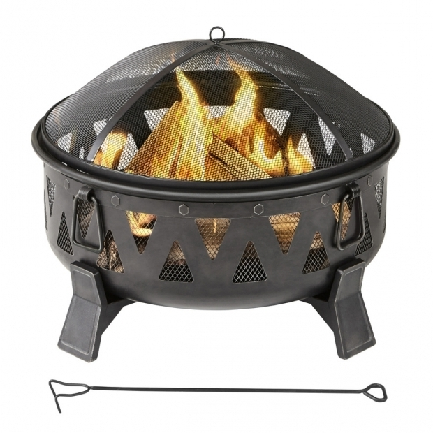 Stylish Fire Pit Glass Lowes Shop Wood Burning Fire Pits At Lowes