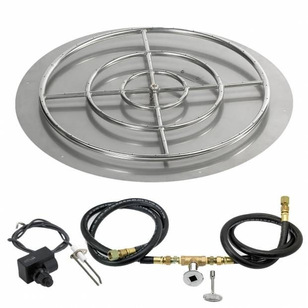 Stylish Fire Pit Parts And Accessories Spark Ignition Fire Pit Kits Spotix