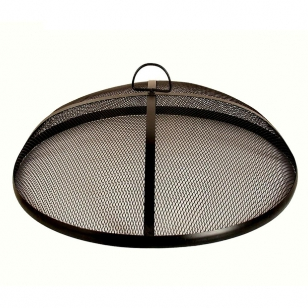Stylish Fire Pit Screens Home Depot 25 In Fire Pit Mesh Screen Ds 25802 The Home Depot