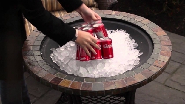 Stylish Gel Fuel Fire Pit Outdoor Gathering Set With Firepit Youtube