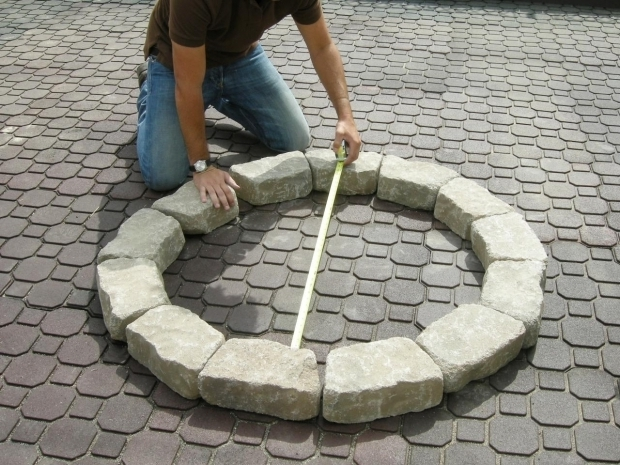 Stylish How To Build A Fire Pit With Pavers How To Make A Backyard Fire Pit Hgtv