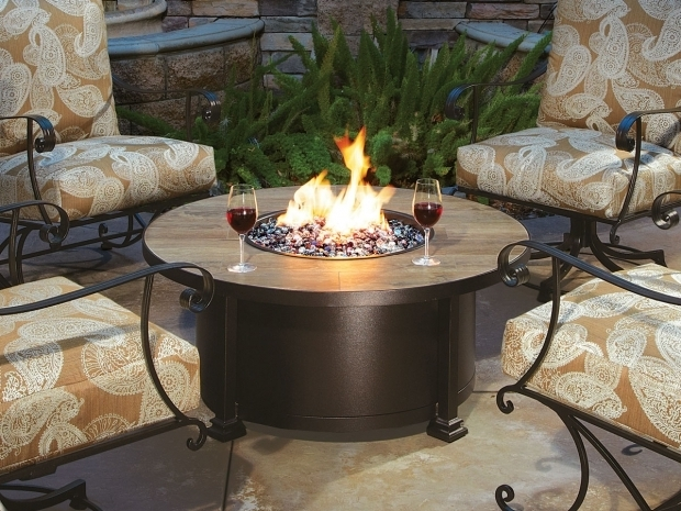 Stylish Ow Lee Fire Pits Santorini 42 Round Fire Pit From Ow Lee Outdoor Furniture