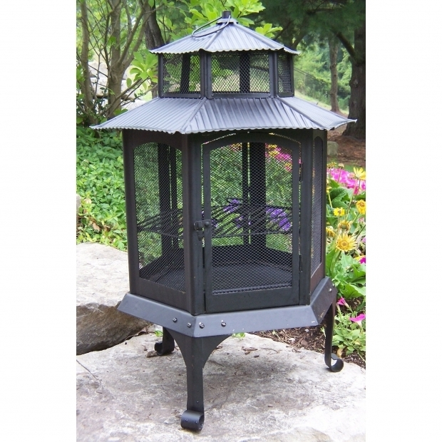 Stylish Pagoda Fire Pit Pagoda Outdoor Fireplaces Fire Pits Youll Love Wayfair