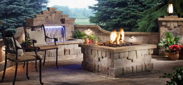 Wonderful Belgard Fire Pit Warming Cool Nights Add A Belgard Fire Feature Outdoor Living