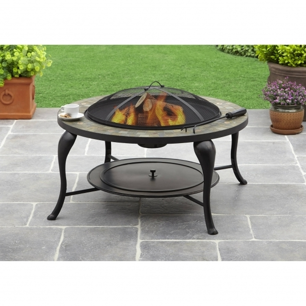 Alluring Better Homes And Gardens Fire Pit Better Homes And Gardens 35 Slate Fire Pit Walmart