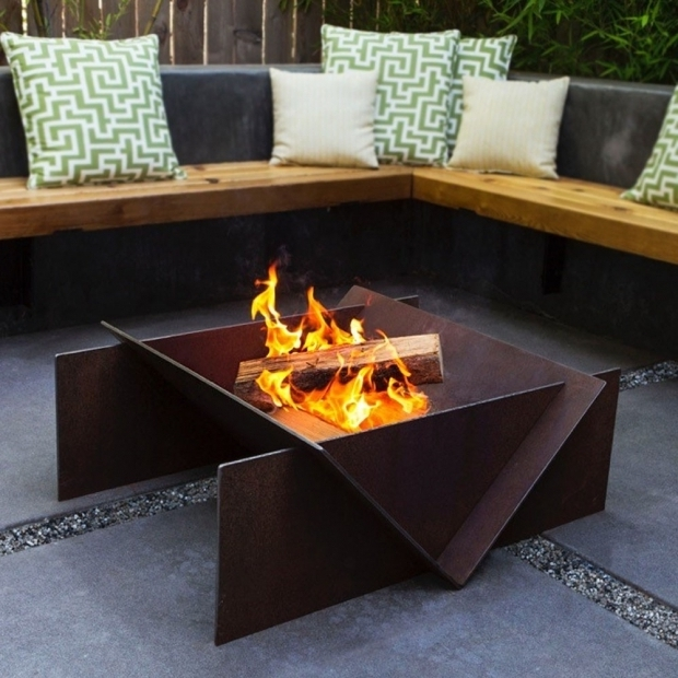 Amazing Outdoor Wood Burning Fire Pits Stahl Wood Burning Fire Pit