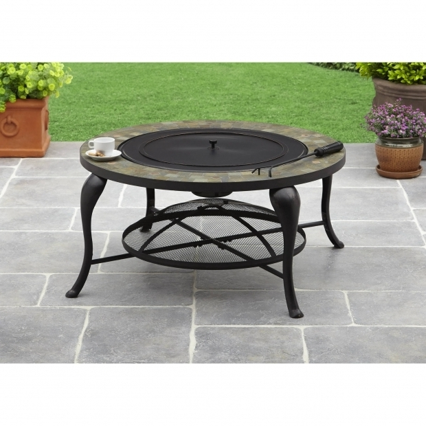 Inspiring Better Homes And Gardens Fire Pit Better Homes And Gardens 35 Slate Fire Pit Walmart