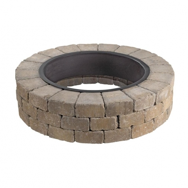 Marvelous Home Depot Fire Pit Stones Outdoor Living Kits Landscaping The Home Depot