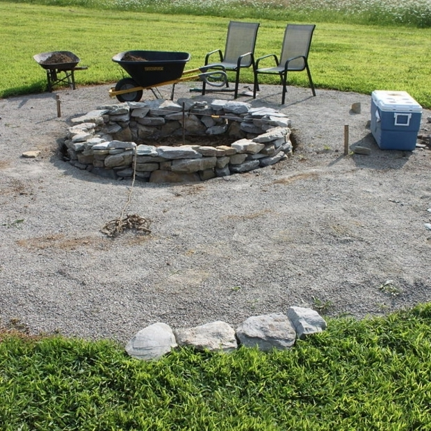 Picture of Bon Fire Pit Backyard Bonfire Pit Photo 3 Design Your Home