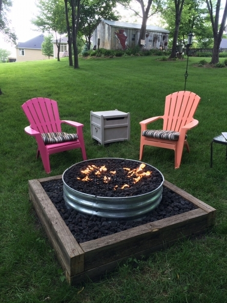 Picture of Galvanized Fire Pit Ring Galvanized Fire Pit Ring 48 Fire Pits Pinterest Fire Pit Ring