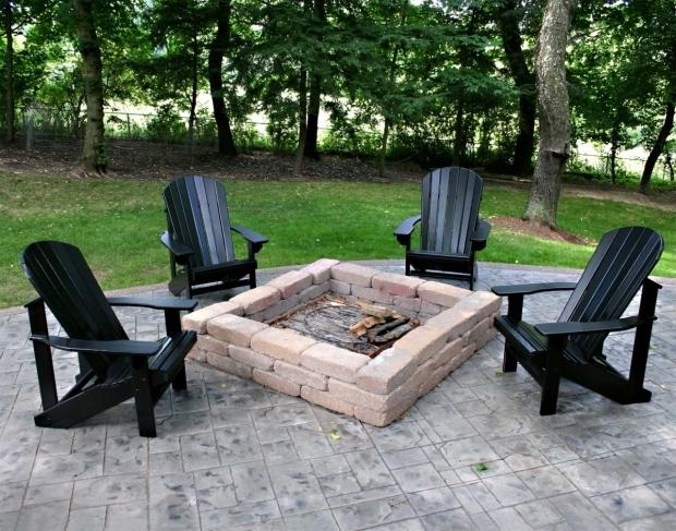 Wonderful Chairs Around Fire Pit Magical Outdoor Fire Pit Seating Ideas Area Designs
