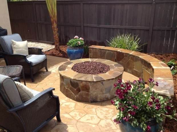 Wonderful Fire Pits San Diego Natural Gas Fire Pit With Seat Wall Cameron Flagstone Concrete
