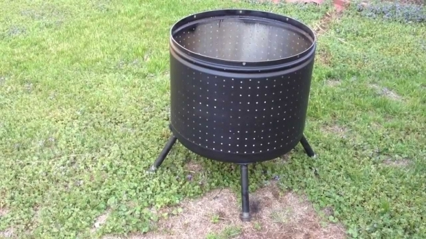 Washer Tub Fire Pit
