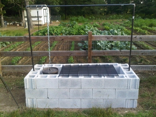 How To Build A Fire Pit With Cinder Blocks - Fire Pit Ideas on Cinder Block Fireplace Diy id=70173