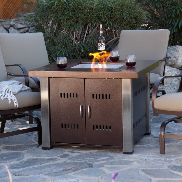 How To Build A Propane Fire Pit Table