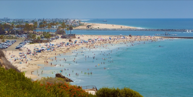 Corona Del Mar Beach Fire Pits The Best Beaches In The World