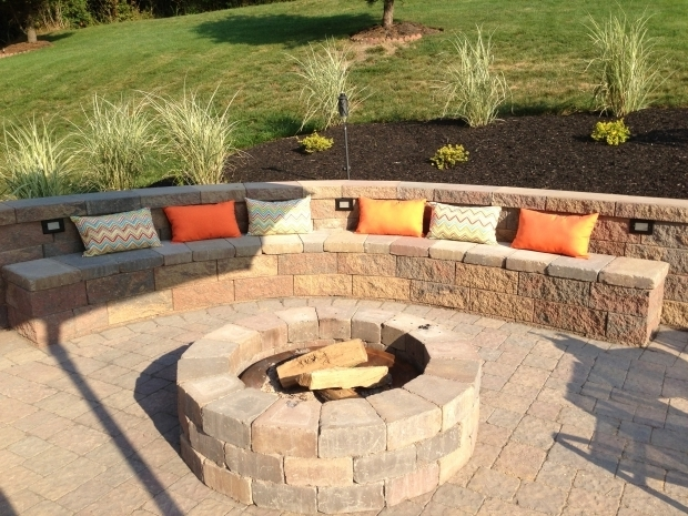 Retaining Wall Fire Pit