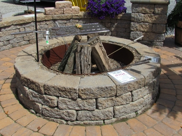 Wood burning fire pit kits fire pit ideas for Wood burning outdoor fireplace kits