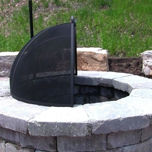 Fire Pit Screen Covers Fire Pit Ideas