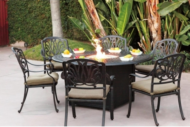 Patio Sets With Fire Pit Table