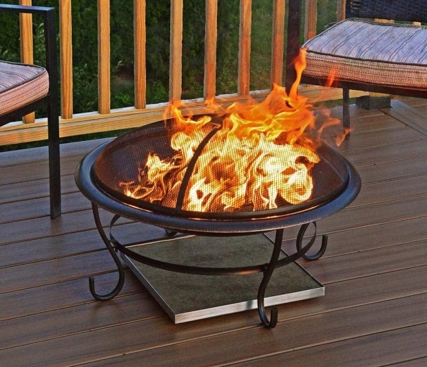 Delightful Deck Protect Fire Pit Pad For Pinterest Pits