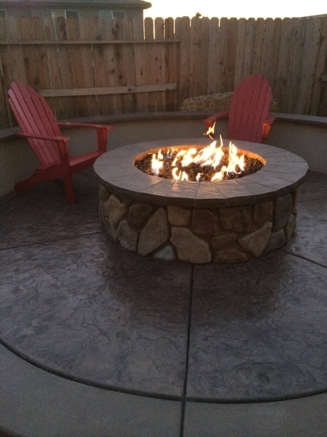 Large Gas Fire Pit