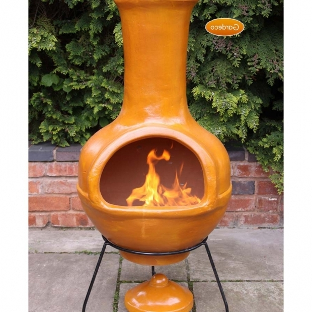 Clay Fire Pit Chimney Ideas