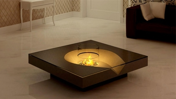 Indoor Fire Pit Coffee Table
