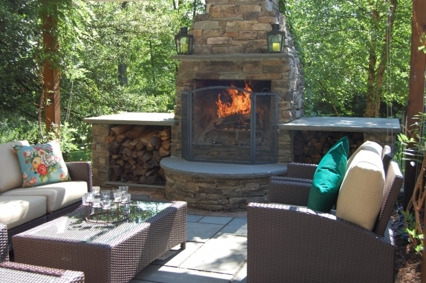 Outdoor Chimney Fire Pit Fire Pit Ideas